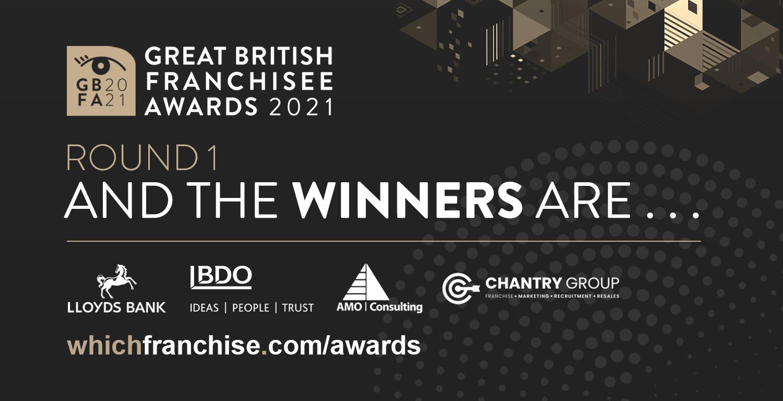 Great British Franchisee award trophy
