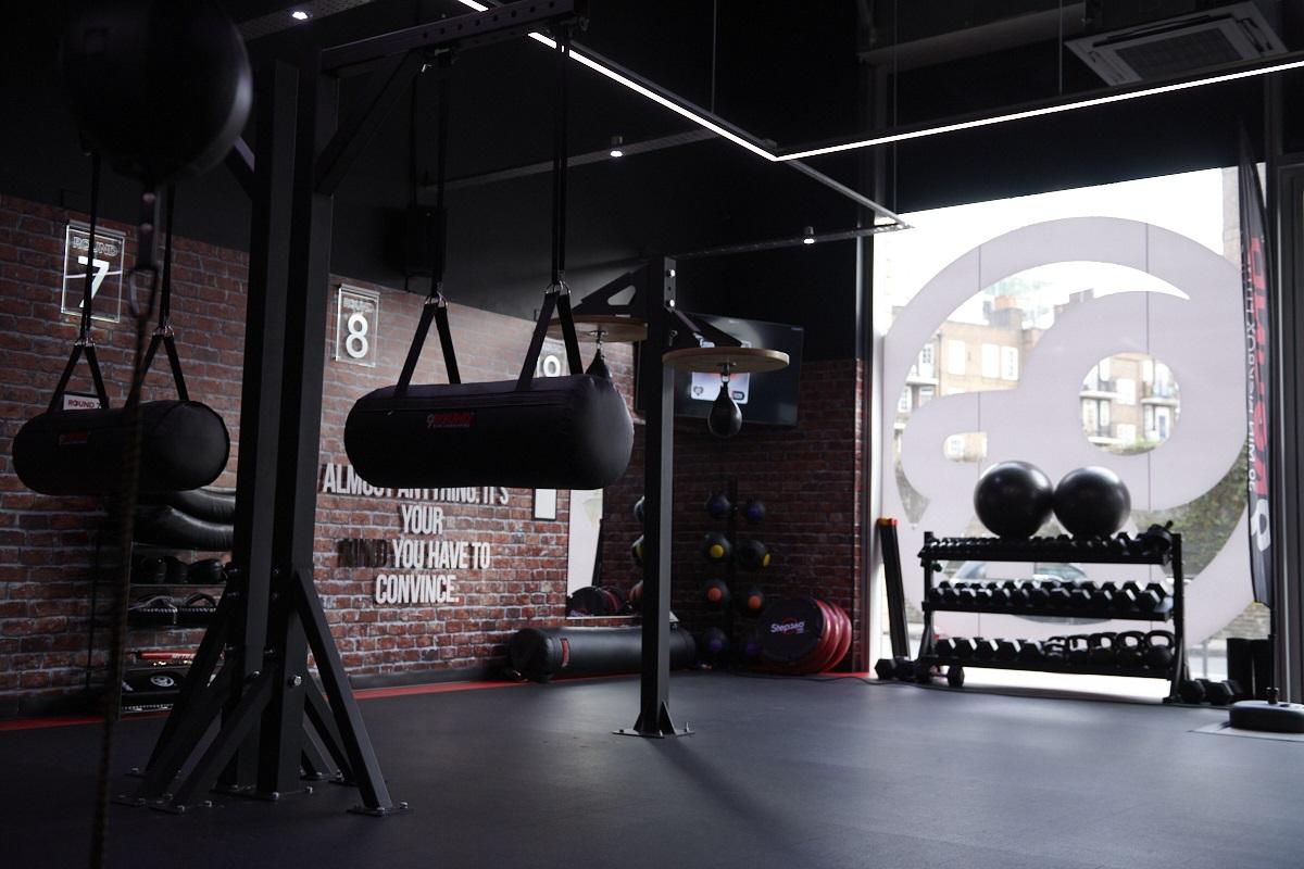 inside a 9Round gym