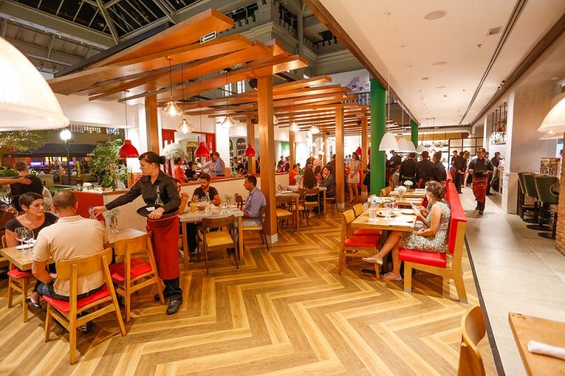 Abbraccio Cucina Italiana is an Italian restaurant franchise