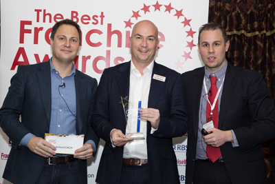 Actioncoach franchisees receiving awards