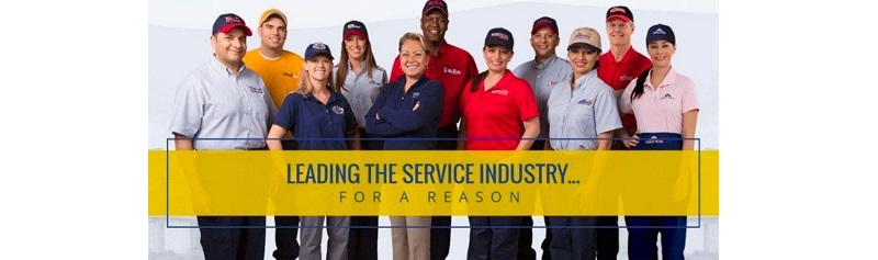 Group of Aire Serv Employees