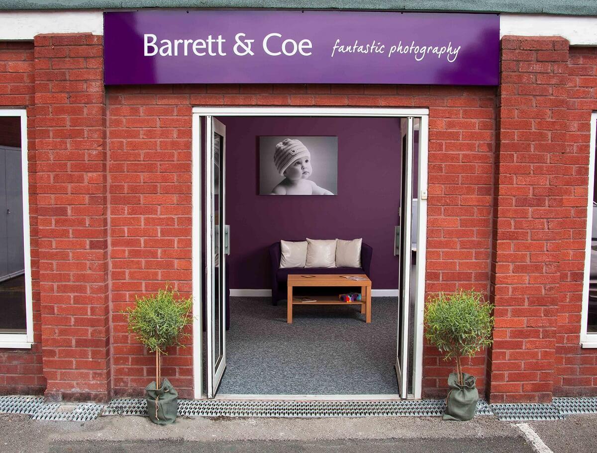 entrance of a barrett and coe studio