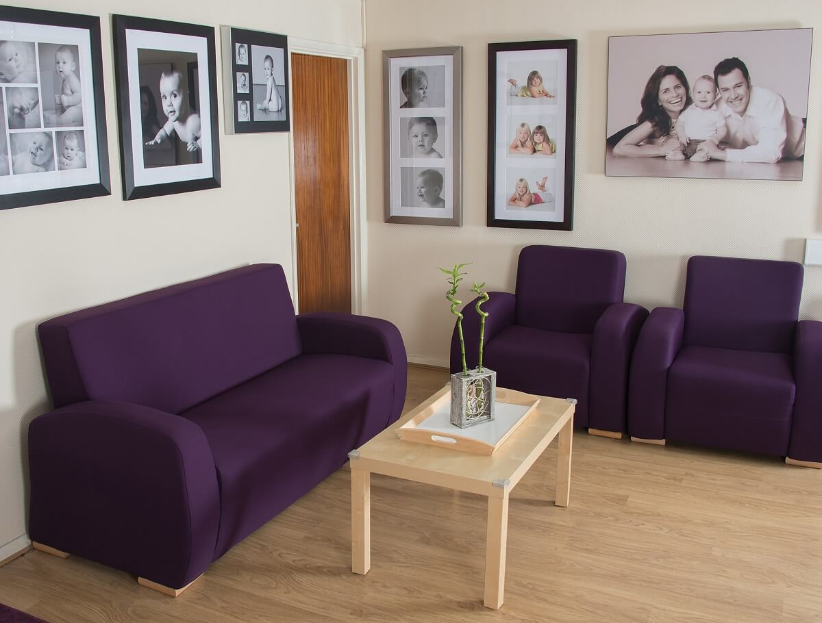 Barrett & Coe studio waiting area