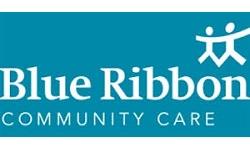 Blue Ribbon Home Care franchise logo