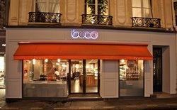 Parisian style deli selling Michelin food