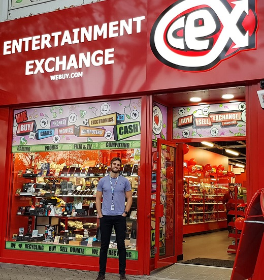 CeX franchise business opportunity frachisee Jonny Barrow