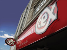 CeX franchise business opportunity banner games mobile electronics computers DVDs UK buy and sell exchange