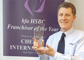 Chemex Franchise Business Opportunity Cleaning Hygiene Award winning lucrative profitable UK management van based mobile banner franchising franchisee owner