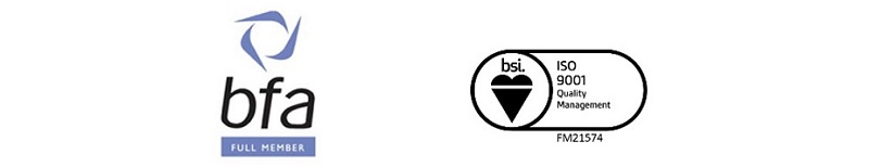 Chemex bfa and iso membership logos