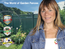 Colourfence franchise business fence franchising lucrative profitable garden boundary unique USP fencing territory Anna Ryder Richardson exterior design external features franchisee