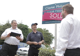 Countrywide Signs franchise opportunity business retail estate agency letting sales