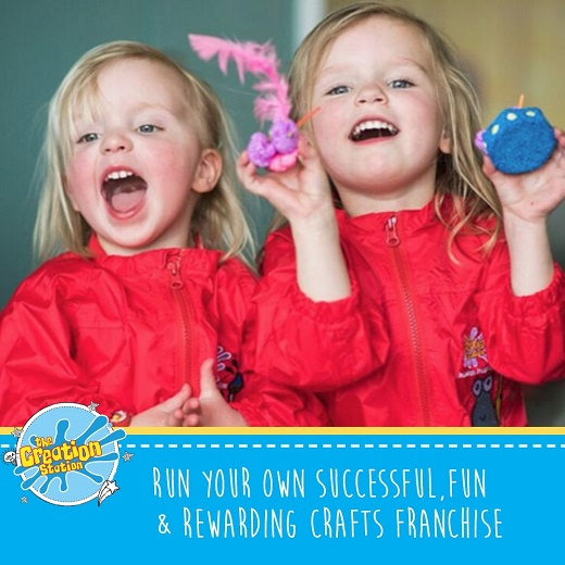 The Creation Station Franchise Business opportunity education fun teaching children creative job career business systems franchising franchisee owner