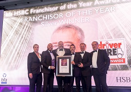 Driver Hire winning franchise award