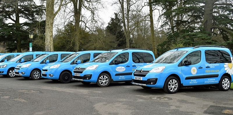 fleet of Driving Miss Daisy vehicles