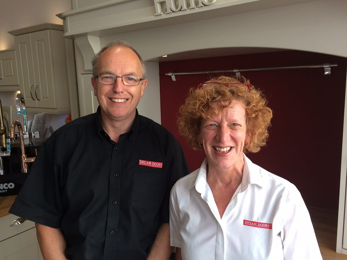 Dream Doors franchisees David and Kate Howle