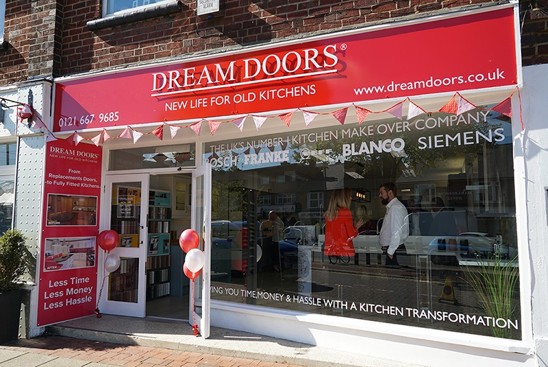 Dream Doors franchise business opportunity kitchen management income