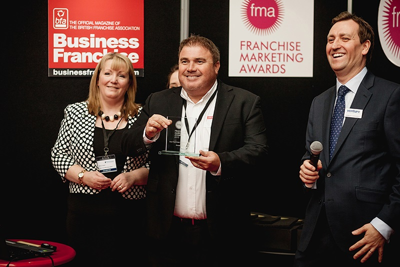 Dream Doors franchisor winning award
