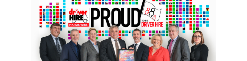 Driver Hire winning franchise award