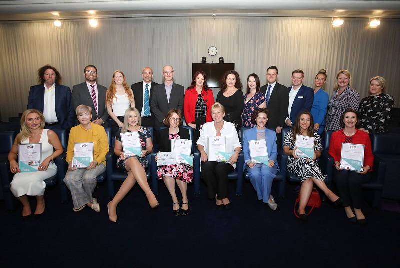 Group photo of EWIF award winners 2019