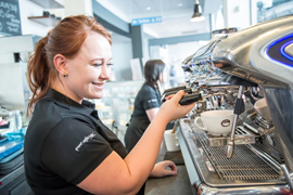 Esquires franchise business coffee shop retail opportunity