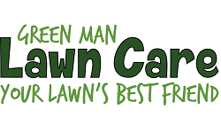 Green Man Lawn Care Logo