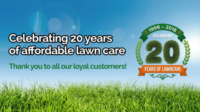 Greensleeves celebrating 20 years banner