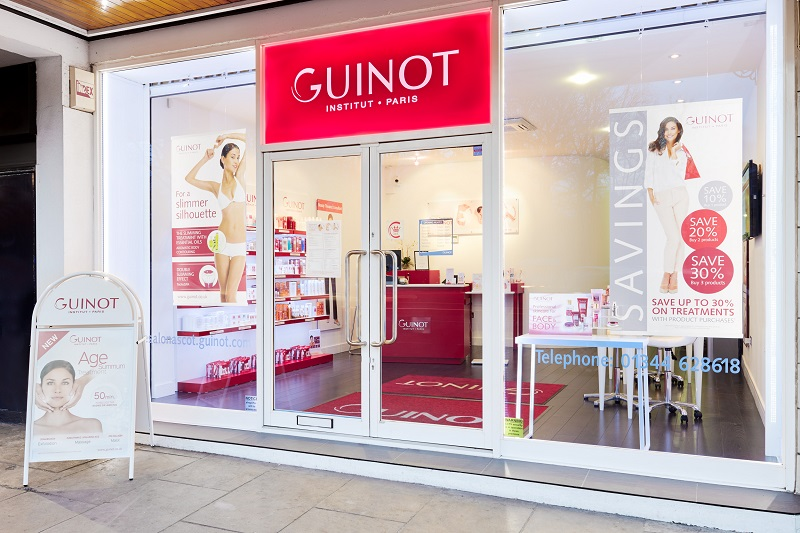 Guinot beauty salon store front