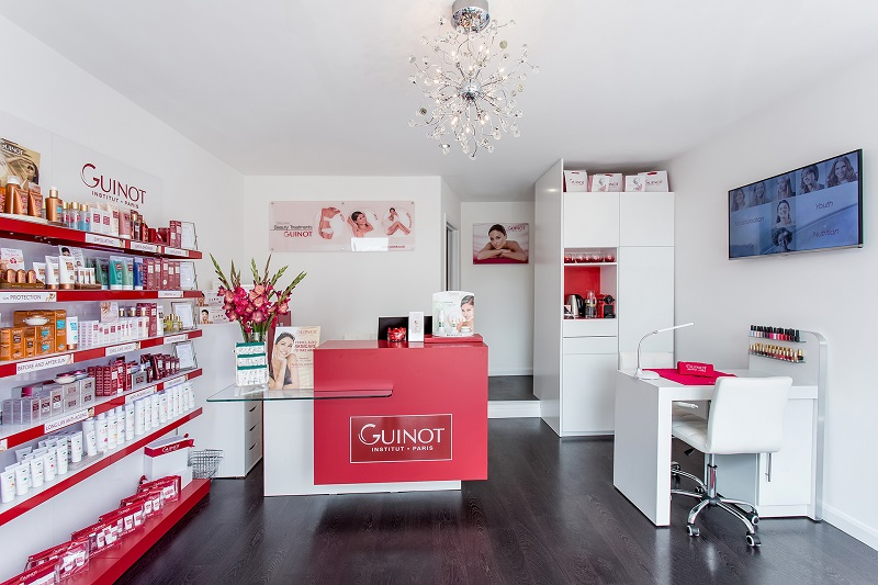 Guinot beauty franchise store