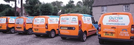 GutterPRO franchise business opportunity lucrative profitable franchising property maintenance gutter cleaning bfa mobile van based funding financing