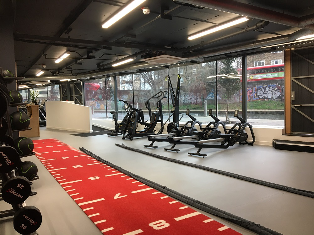 new hitio gym in Hoxton London