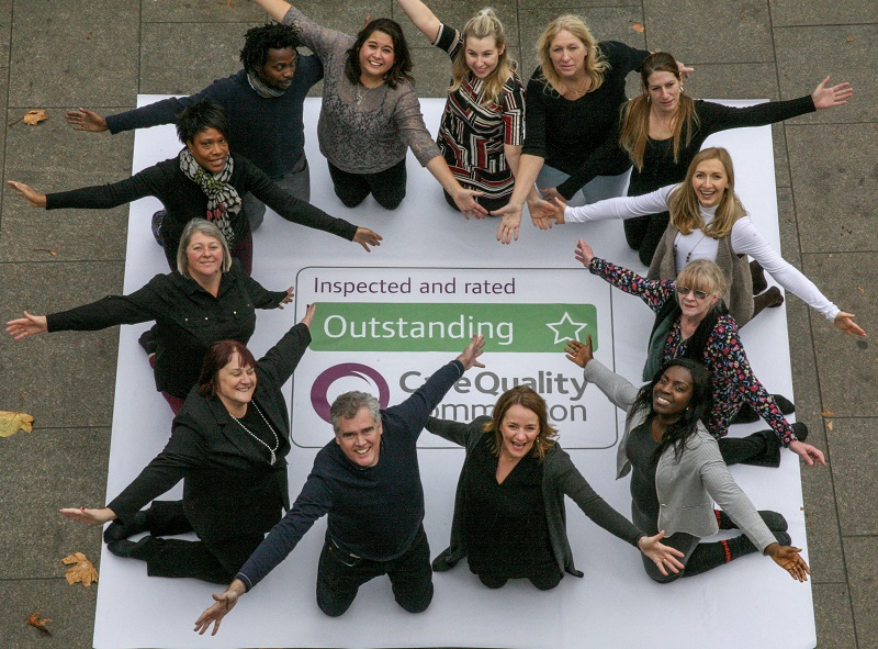 Home Instead CQC Outstanding Award