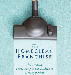 homeclean franchise business opportunity domestic residential management cleaning