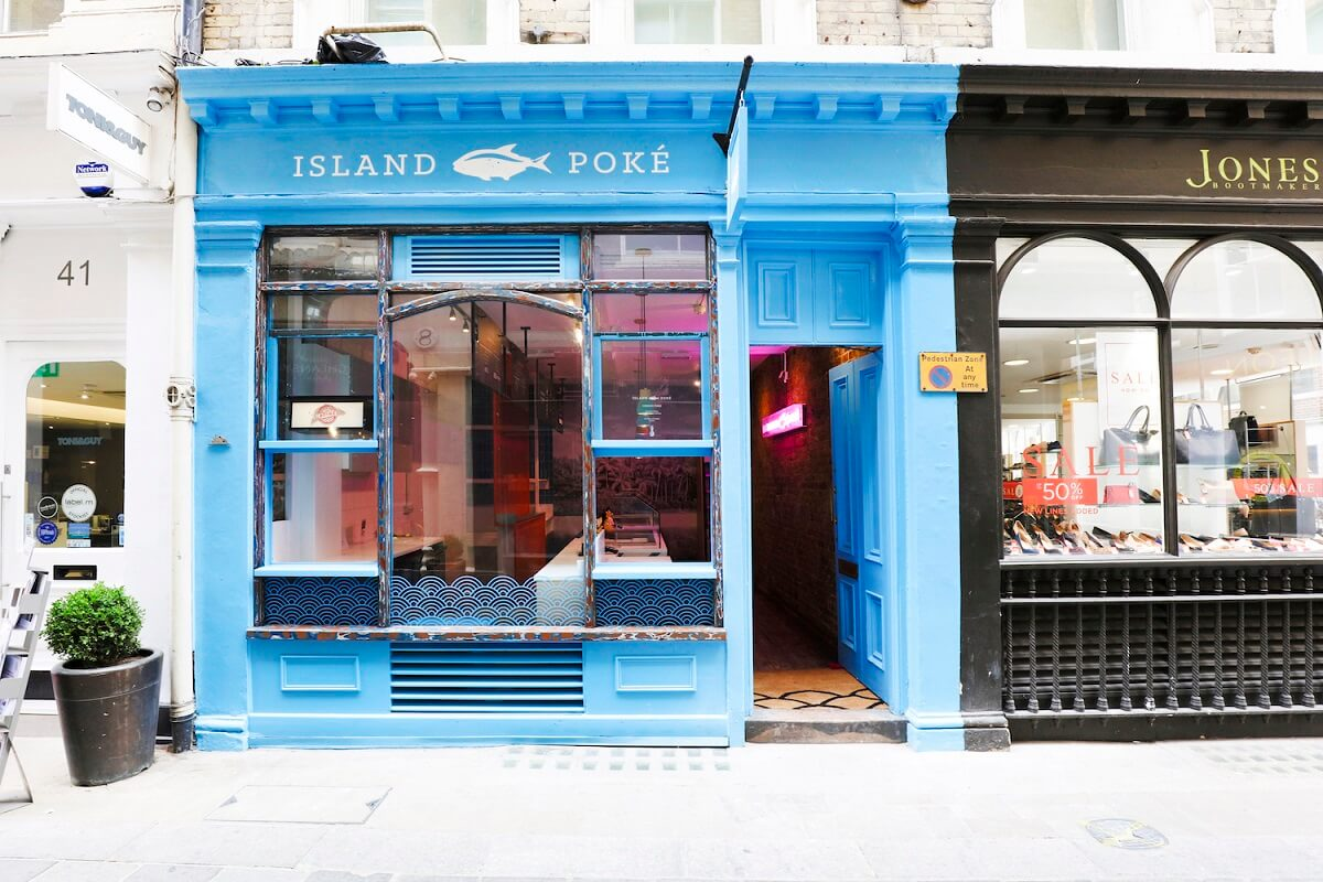 Island Poke Store front
