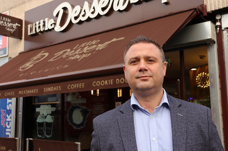 Little Dessert Shop franchisee darren sambrooks