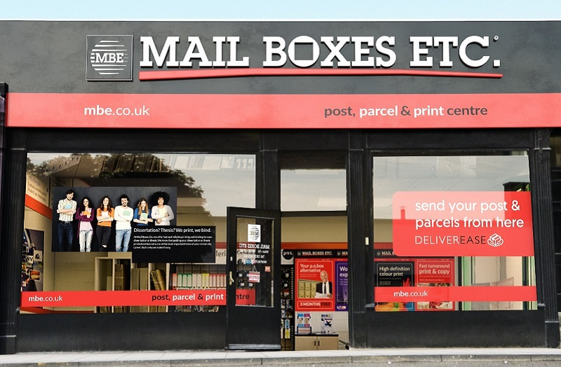Mail Boxes Etc store front