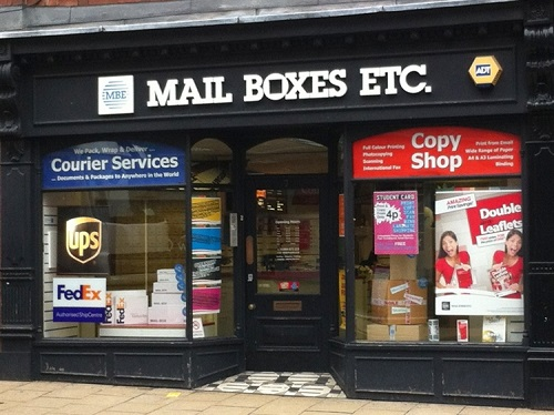 Mail Boxes Etc franchise for sale in York