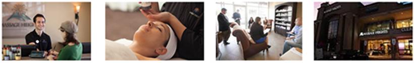 Massage Heights franchise business international spa massage beauty