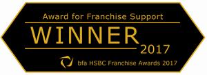 Franchise Support Award for McDonalds