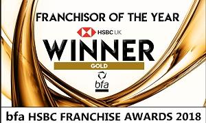 HSBC Award for Franchisor of the Year 2018