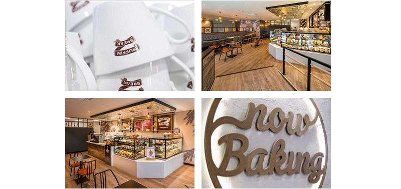 Inside a Muffin Break cafe