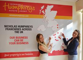 Nicholas Humphreys 2012 award Nicholas Humphreys franchise business opportunity estate letting agency management low cost