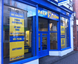 pack and send store front