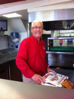 Papa John's franchisee Steve Mullarkey for North West