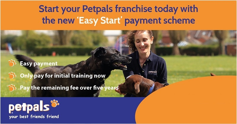Petpals franchise easy start scheme