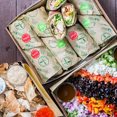 APita Pit is the largest pita sandwich concept in the world