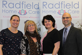 Radfield client Radfield banner franchise business opportunity care carer senior support aged help elderly assistance lucrative industry home residential helper domiciliary service