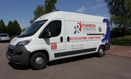 Rainbow International established franchise resale london disaster recovery specialist cleaning services mobile van based