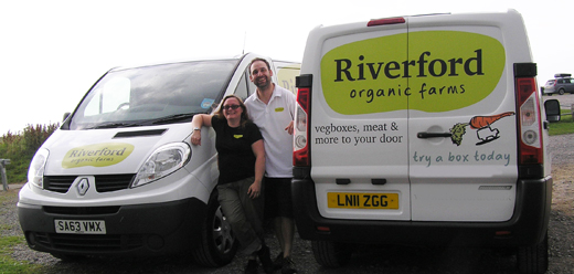 Riverford franchisee interview Organic vegetable
