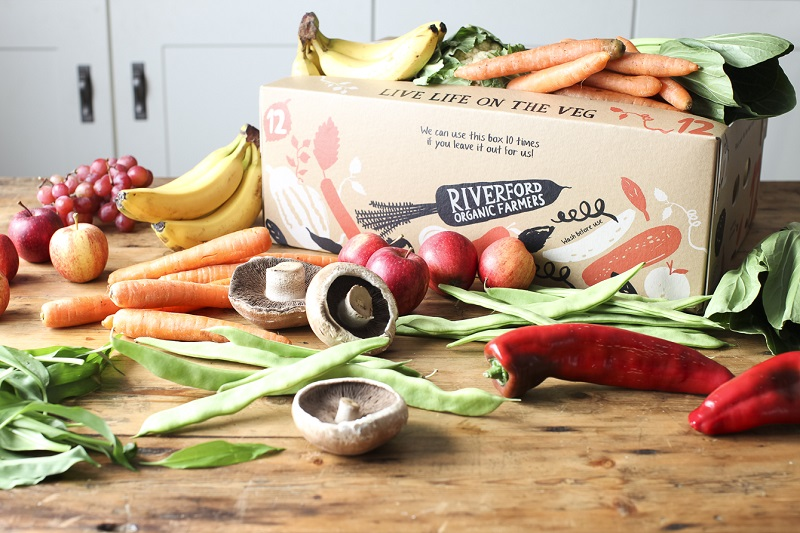 Riverford Organics vegetable box