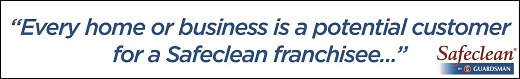 Safeclean Franchise Business Opportunity cleaning sort furniture carpet upholstery clean lucrative profitable support training